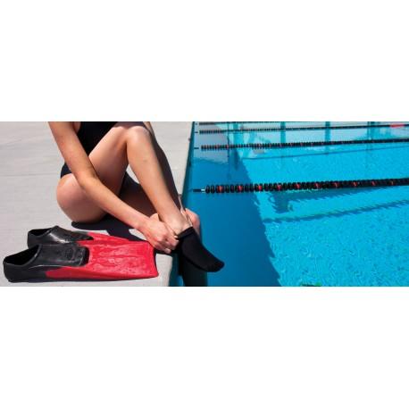 FINIS Skin Sock Black