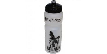 Bidon SWEAMS Swim your dreams - 750ml - Clear Black