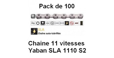 PACK 100 Chaines 11 vitesses YABAN SLA 1110 S2