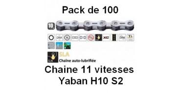 Pack 100 Chaines 10 vitesses Yaban SLA H10 S2
