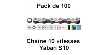 Pack 100 Chaines 10 vitesses Yaban S10