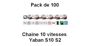 Pack 100 Chaines 10 vitesses Yaban S10 S2