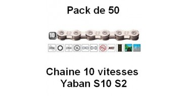 Pack 50 Chaines 10 vitesses Yaban S10 S2