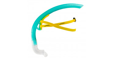 FINIS Stability Snorkel Teal - Tuba Frontal Natation