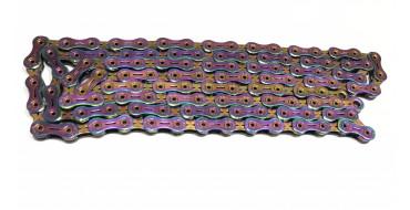 Chaine 11 vitesses Yaban SLA 110 TI C (Cuivre multicolore)
