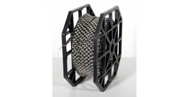 ROULEAU de 50m de Chaines YBN S252 7-8 vitesses - 4000 maillons - SINGLE PIN