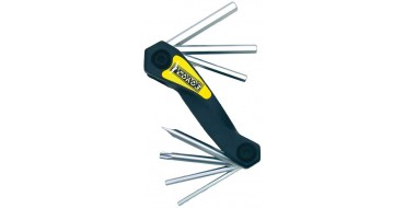 Multi-outils hexagonaux avec clé Torx 25 PEDROS Folding Hex Set with Torx 25
